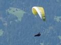 Österreich 2015 - Paraglider auf unserer Höhe