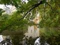 Wasserschloss mit Spiegelung original